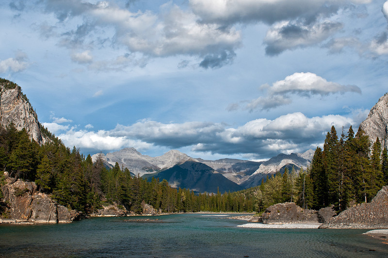 TRCA-11016: Bow River in Banff National Park