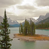 TRCA-11145: Spirit Island on Maligne Lake in Jasper National Park