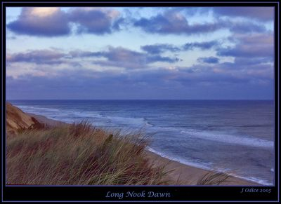 Long Nook Dawn Cape Cod MA