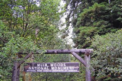 The main trail entrance.