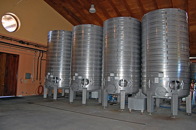 Wine production facilities.