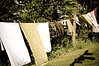 Clothesline at the cottage
