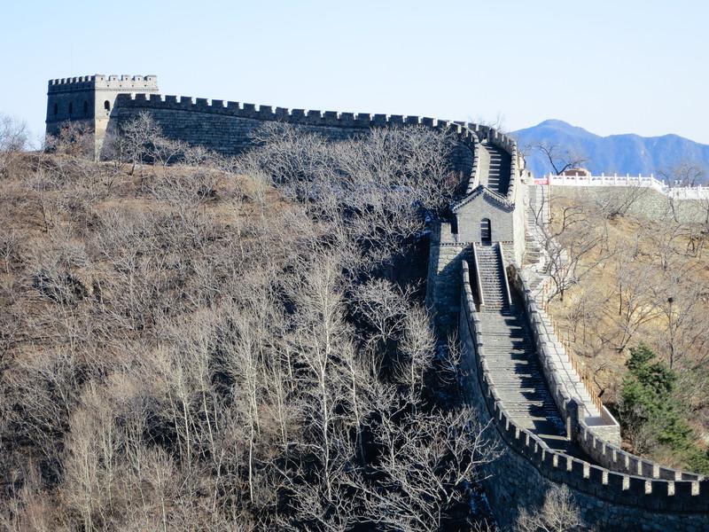 The Great Wall near Beijing