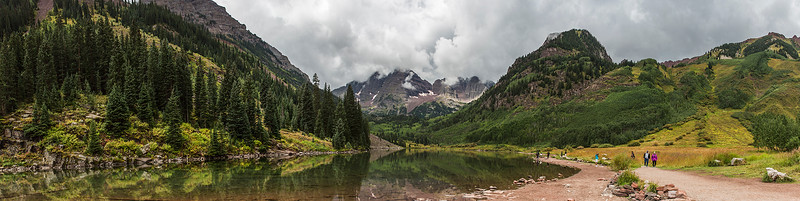 Colorado -  Maroon Lake with Maroon Peak
