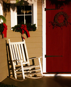 Christmas Rocking Chair Sherman CT