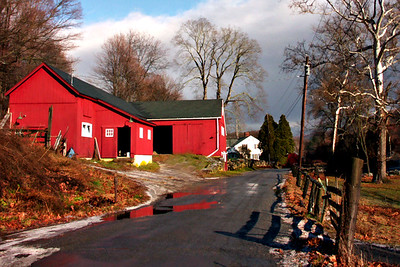 Red Barn Sherman CT