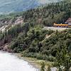 Alaska Train Engines Hard At Work