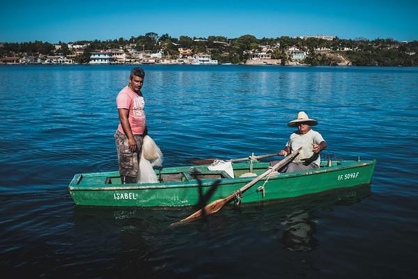 Fishermen outside of Jagua