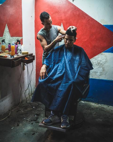 Cuban shave