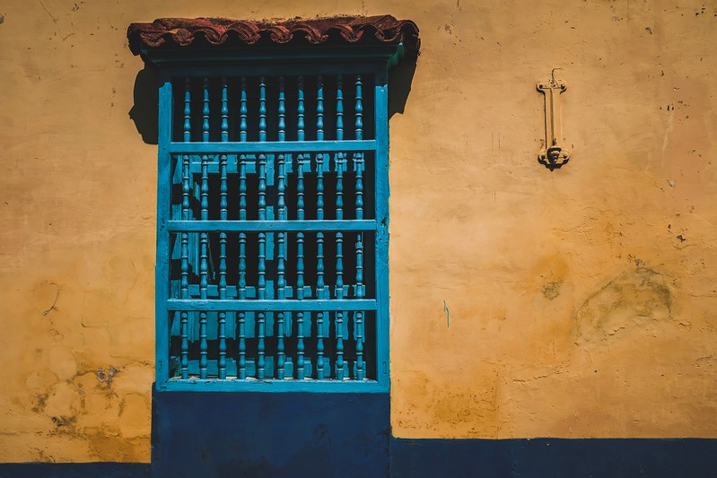 The colors of Trinidad, Cuba.