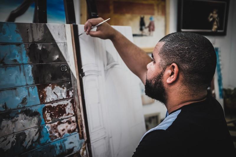 Roly, Cuban painter