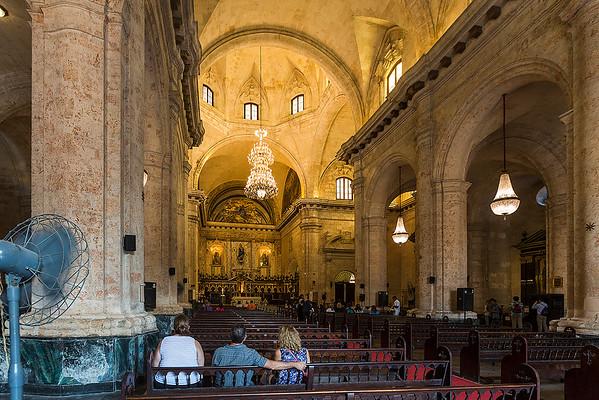 The Cathedral de la Virgen María de la Concepción Inmaculada of Havana