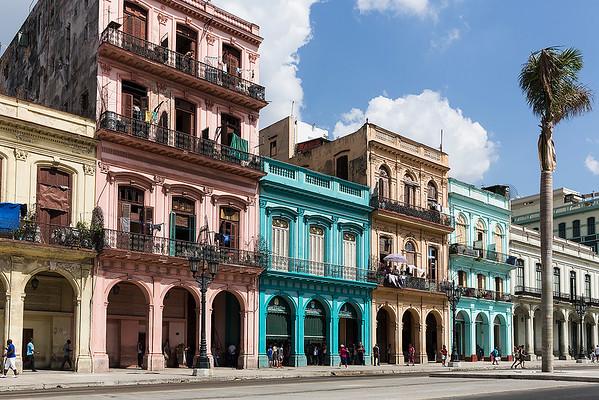 A section of Paseo de Marti boulevard
