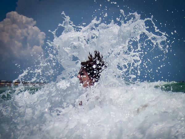 166  Terry in the foam