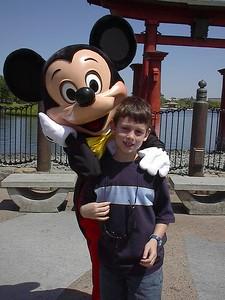 Sebastian and Mickey