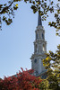 Steeple with Leaves
