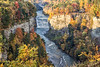Letchworth State Park - View of Middle Falls