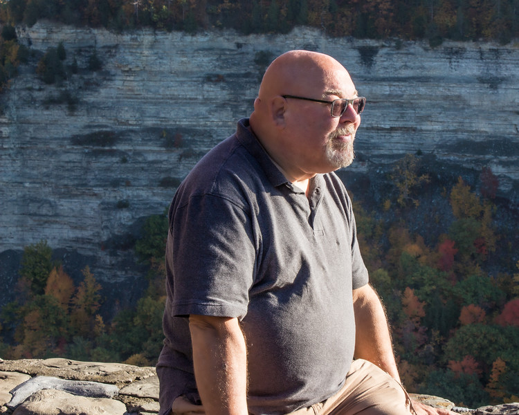 John at Letchworth State Park 1