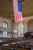 Providence - Church Interior with Flag