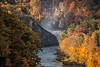 Letchworth State Park - View of Upper Falls