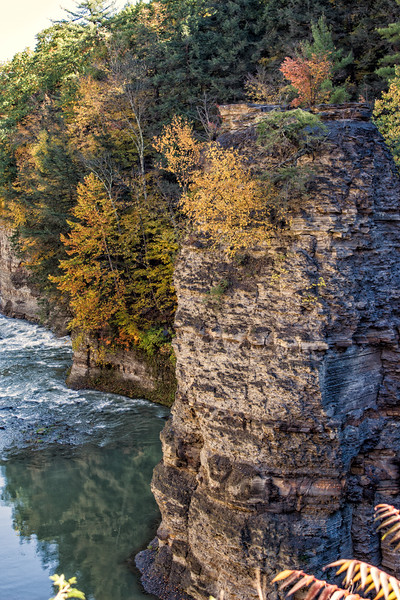Letchworth State Park - Curving Cliffs