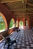 Wilson Castle - Porch Tiles