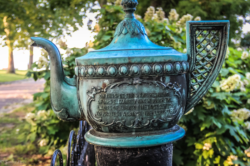 Commemorating the women of Edenton who protested the tea tax