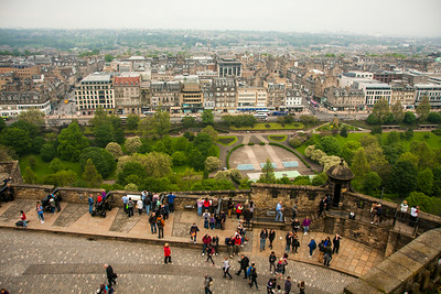 Looking Across Edinburgh