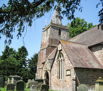 The parish church in Dymock
