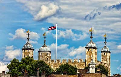 The Tower of London from a river boat!