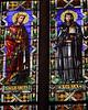 Santa Croce - Window Detail with Saints