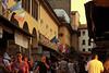On the Ponte Vecchio at Twilight