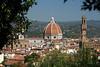 Duomo and Palzzo Vecchio from the Bobboli