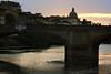 Ponte Santa Trinita from Below