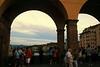 Ponte Vecchio View at Sunset
