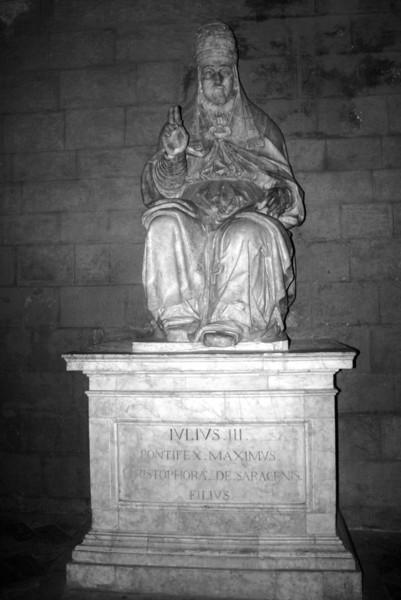 Siena - Statue of Julius II