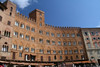 Siena - Buildings on the Piazza del Campo