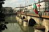 Torino - Po River and Bridge