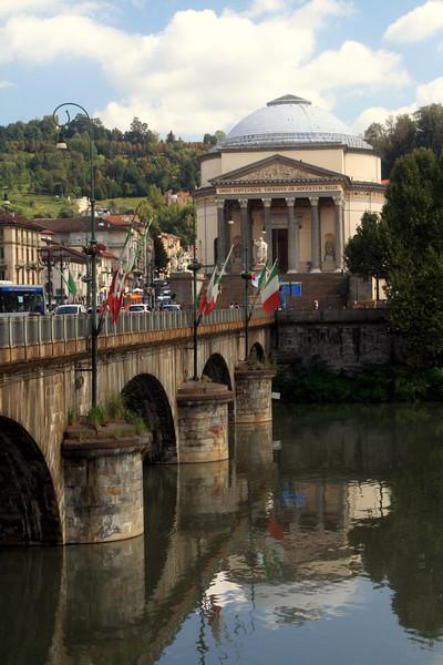 Torino - Bridge and Gran Madre