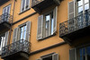 Torino - Building with Yellow Walls