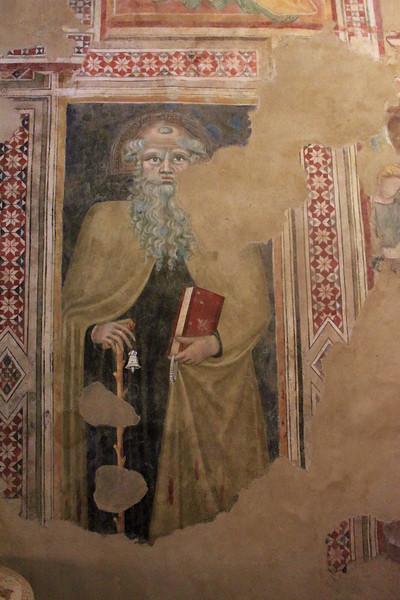 Pienza - Fresco Fragment