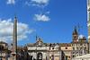 Piazza del Populo - Wide Angle View Facing North