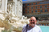 John at Trevi Fountain