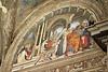 Santa Maria sopra Minerva - Lunette of Carafa Chapel (episodes fron life of St  Thomas)