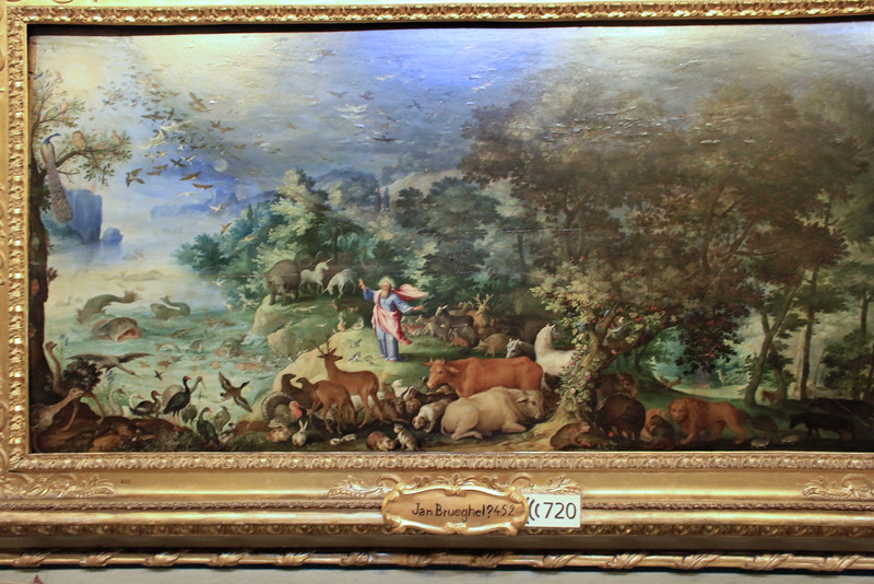 Attributed to Jan Breughel - Garden of Eden