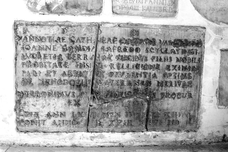 Grave Marker of Vanozza di Catenei, Luretia Borgia's Mother