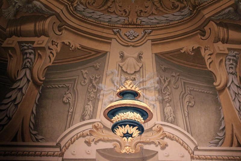 Galleria Doria Pamphilj - Decorative Detail with Mock Steam