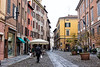 Modena - Street Scene with Table Umbrella
