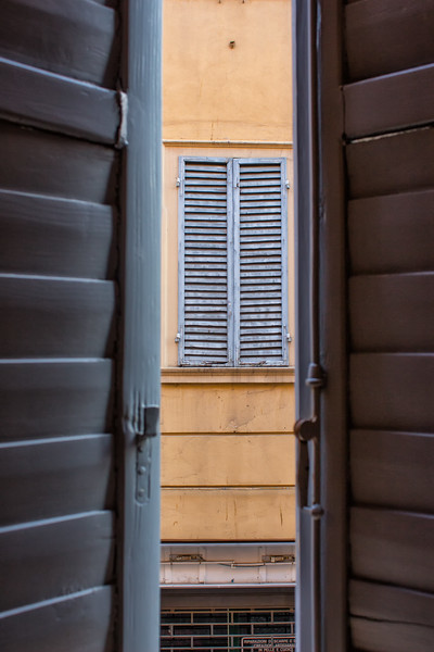 Modena - Shutters Framed By Shutters