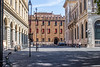 Bologna - Piazza with Three Buildings